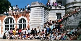 Photographie  de l'ensemble de la RIDEF  de 1992 à Poitiers