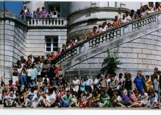 Photographie  de l'ensemble de la RIDEF  de 1992 à Poitiers partie 2